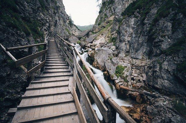 La scalinata verso il paradiso